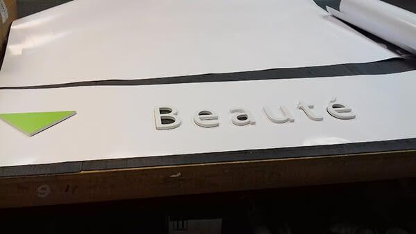 """Lettres volume """"Beauté"""""""