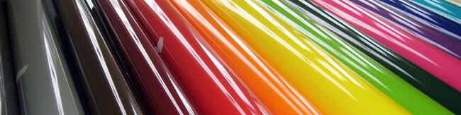 rouleaux adhésifs de couleur