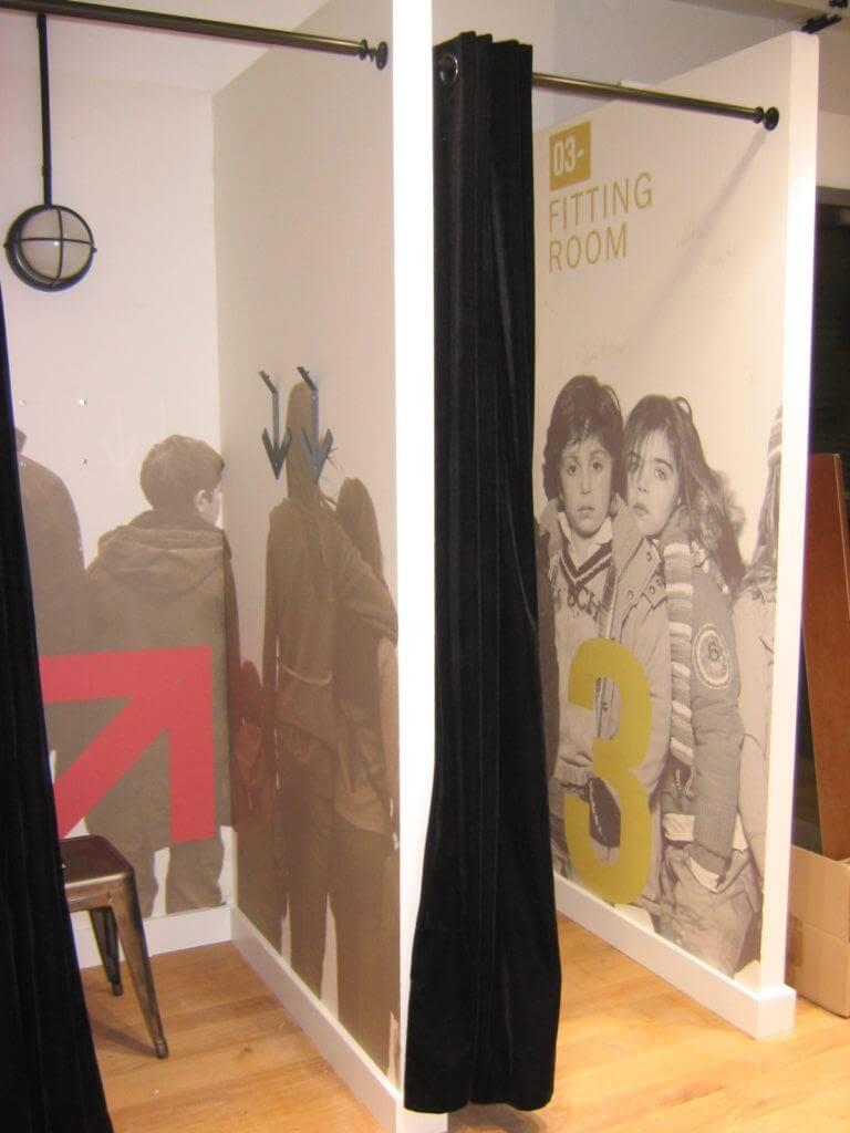 tapisseries cabines junior avec photos d'enfants